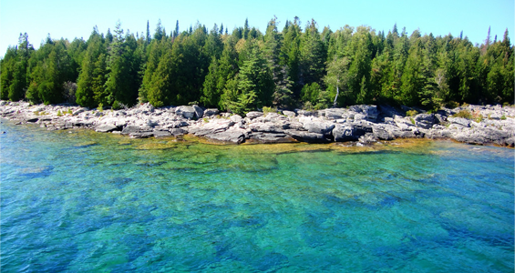 The Crystal Clear Waters of Georgian Bay